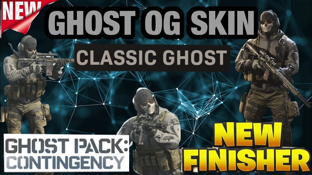 Update 1 21 Classic Ghost Finisher Ghost Pack Contingency Bundle