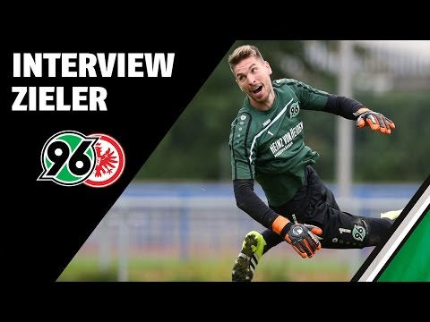 Interview Ron-Robert Zieler   Hannover 96 - Eintracht Frankfurt