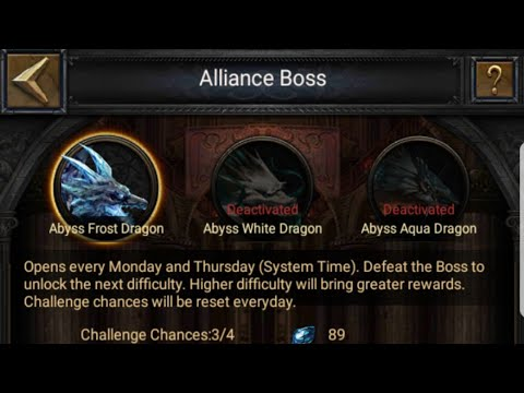 Clash Of Kings Game Play Killing Alliance Boss