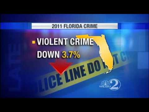 FDLE: Crime Rate At 40-Year Low