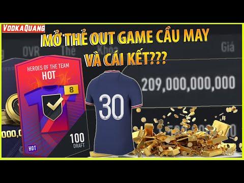 Vodka HÊN | Mở thẻ HOT +8 OUT GAME cầu may của A Fan Inter nổ Siêu ngay Cầu Thủ M30 200 TỶ cực BỊP