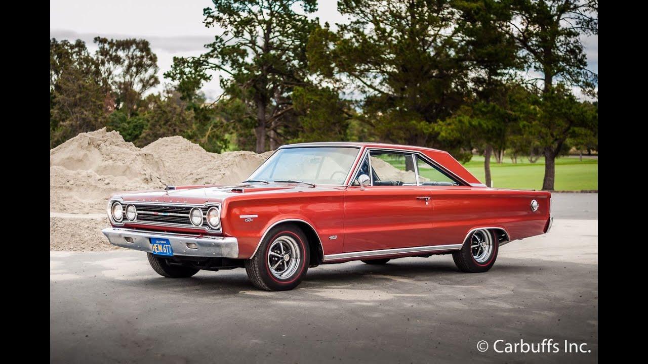 1967 Plymouth GTX Hemi running - YouTube