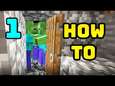 How to Play Minecraft Part 1 - Getting Started, Wood, Food, Cave and More