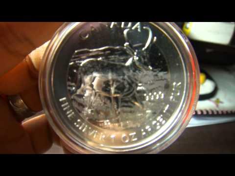 2013 Canadian Pronghorn Antelope Silver Bullion Coin