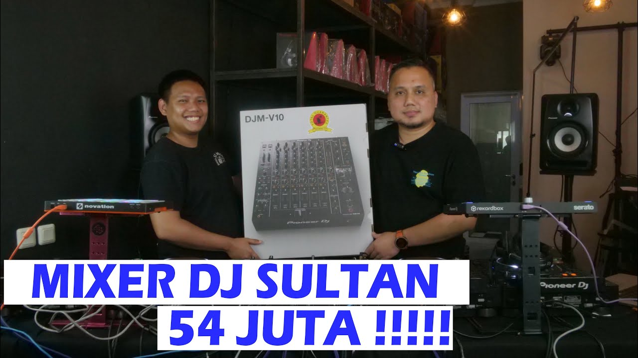 MIXER DJ SUPER KOMPLIT !! Review Pioneer DJM V-10