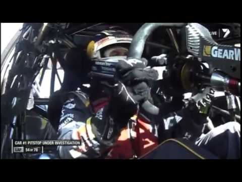 V8 Supercars Flashback - Whincup's Penalty for a Pit Stop Error (Adelaide 2014)