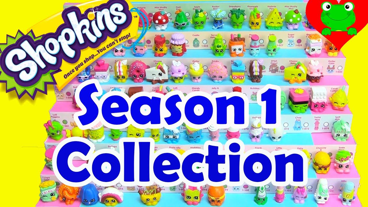 shopkins season 1 collection toy genie youtube