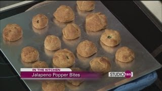 Studio 10 - Jalapeno Popper Bites And Cheese Wontons