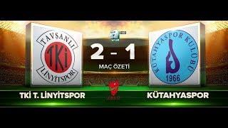 Tavşanlı Linyitspor 2-1 Kütahyaspor   Maç Özeti HD   A Spor   22.08.2017