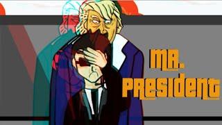 ASI ES EL SECUESTRO DE DONALD TRUMP - MR. PRESIDENT ANIMADO | FERNANFLOO ANIMADO