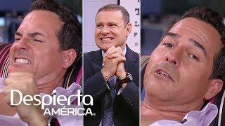 Baixar Carlos Calderón se somete a una simulación de dolores de parto | Dr. Juan