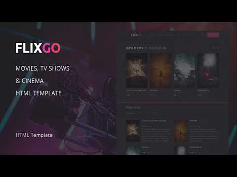 FlixGo – Online Movies, TV Shows & Cinema HTML Template | Themeforest Website Templates And Themes