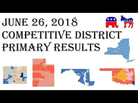 2018-congress-predictions-june-26-primary-results-colorado-maryland-oklahoma-utah-new-york