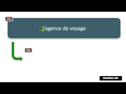 How to pronounce L'agence de voyage