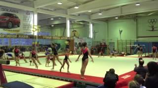 Приветствие гимнастов