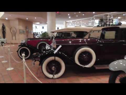 Monaco Car Museum Inside