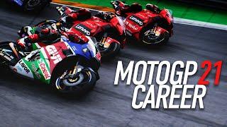 SEND IT!!!   MotoGP 21 Career Mode Gameplay Part 33 (MotoGP 2021 Game PS5 / PC)