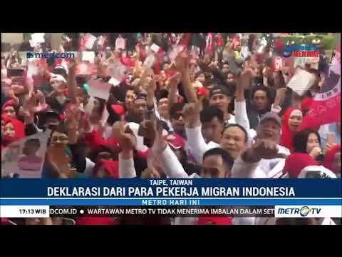 Relawan di Taiwan Targetkan Jokowi-Ma'ruf Menang 100% di Taiwan Mp3