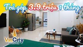 Vincity Sportia căn hộ Studio 1 phòng ngủ: 1 tỷ - 1 ngủ - 28m2 (Vincity Sportia Tây Mỗ)