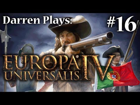 Europa Universalis IV: Part 16: Nobody Expects the Portuguese Inquisition