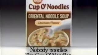 Cup O' Noodles Ad-  How Do You Noodle? (1991)