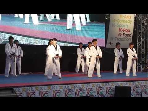 Thames Festival 2012: Kukkiwon Taekwondo Demo Team - Full Stage