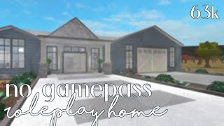 Roblox: Benvenuti a Bloxburg No Gamepass Roleplay Home (63k)