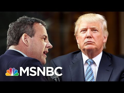 Chris Christie Endorses Donald Trump For President | MSNBC