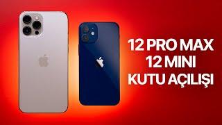 iPhone 12 Pro Max ve Mini Kutu Açılışı Tamamen Türkçe