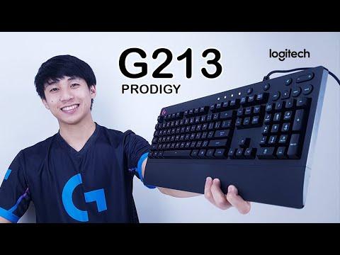 รีวิว Logitech G213 Prodigy ไฟทะลุทะลวงทุกตัวอักษร กันน้ำได้ ไฟคมมาก
