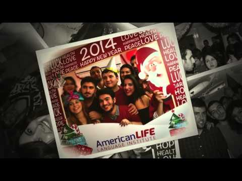 İzmir American Life Language Institutes New Year Red Party...in 2013...