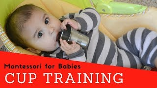 Montessori for Babies - Cup Training