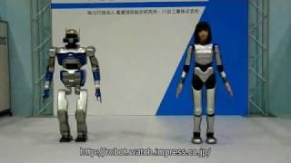 HRP-4C & HRP-2 Promet (ROBOFES)