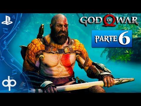 GOD OF WAR 4 Parte 6 Español Gameplay PS4 PRO | Mision Secundaria El Alijo de Fafnir + Exploración