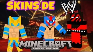 Search Minecraft WWE Skins VidyoSite - Skin para minecraft pe wwe