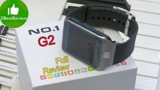 ✔ Обзор NO.1 G2 Smartwatch! Part 2. Gearbest.