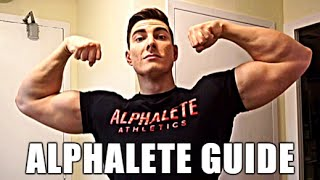 Alphalete Athletics Unboxing: Full Review + Sizing: New Drop (Joggers & 3/4th)