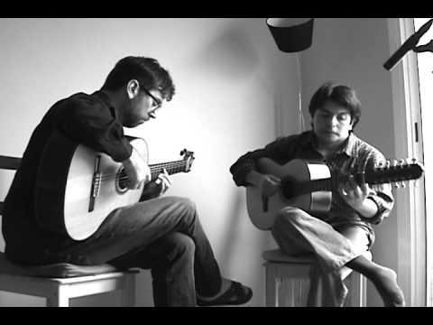"Bambuco ""Germán"" by Gentil Montaña (guitar & tiple version)"