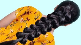 Best Hairstyles for College/party/Wedding || Everyday hairstyle 2019 for Long hair | HairStyle Girl