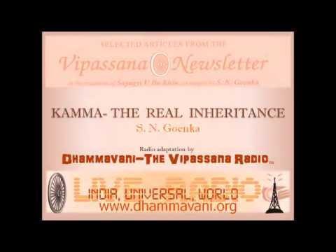 Kamma The Real Inheritance