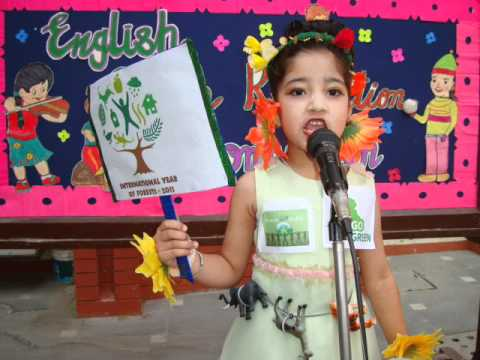 English Poem Recitation Compeion