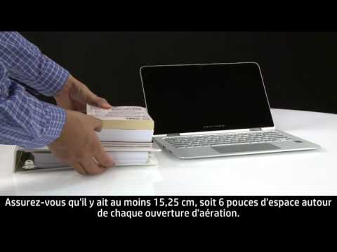 Diminution de la chaleur de votre ordinateur portable pour éviter toute surchauffe