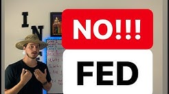 Live  The Fed is about to lower rates for 1st time since 2009! I don