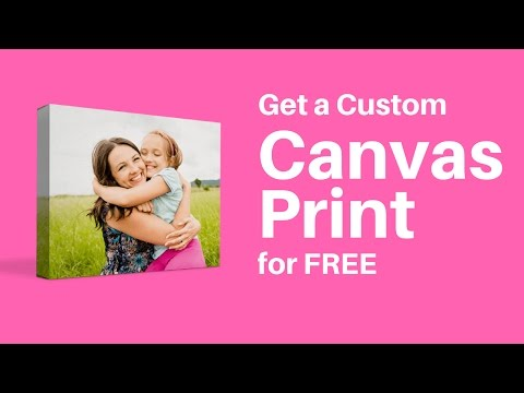 Get Custom Canvas Prints For FREE!