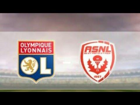 Match de coupe de France Nancy - Lyon Résumé