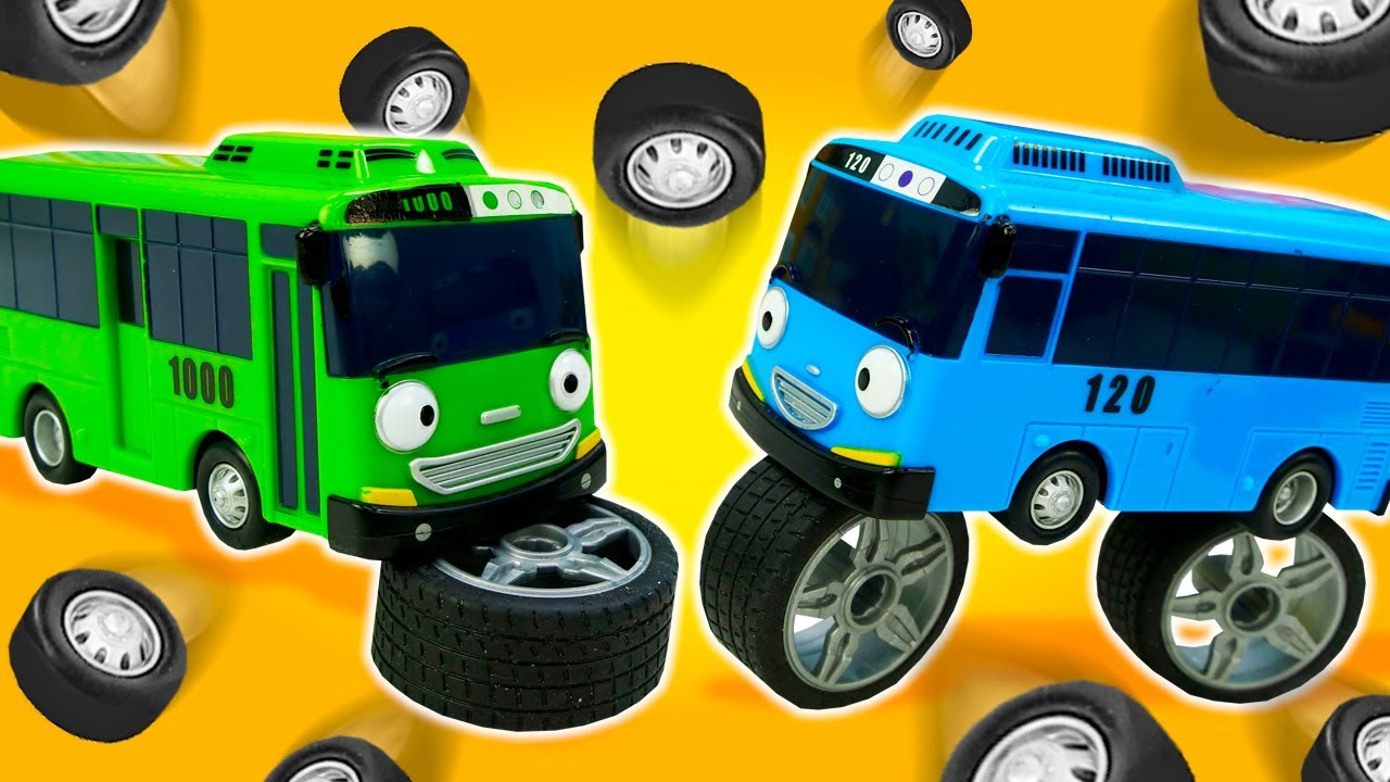 Kids' videos & Learning videos for toddlers - Tayo the little bus & kids' toys