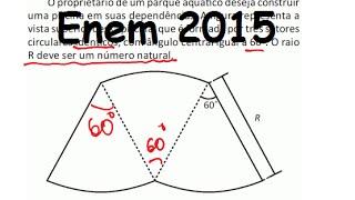 (Enem 2015/2016) Questão 171 Resolvida Matemática (Gabarito/Correção)