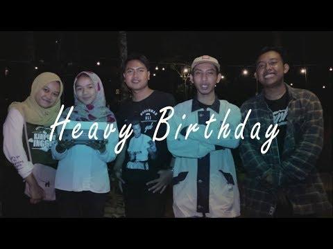 """Ulang Tahun Susya """"Senja Sore"""" Cover Musik : Heavy Birthday Endank Soekamti"""