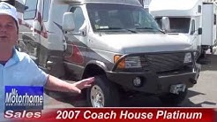 Mr Motorhome 2007 Coach House Platinum 4x4 916 681 3333 class b #0899