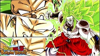 He hits soooo hard wow!!!!!! lssj3 broly (50 stamina)! dbz: dokkan battle!